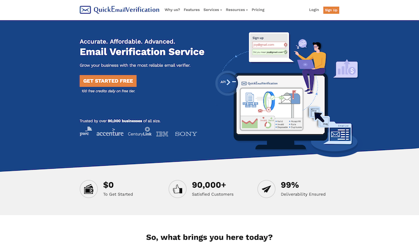 Quickemailverification