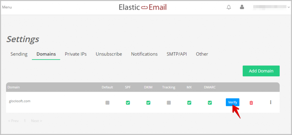 Elastic Email features